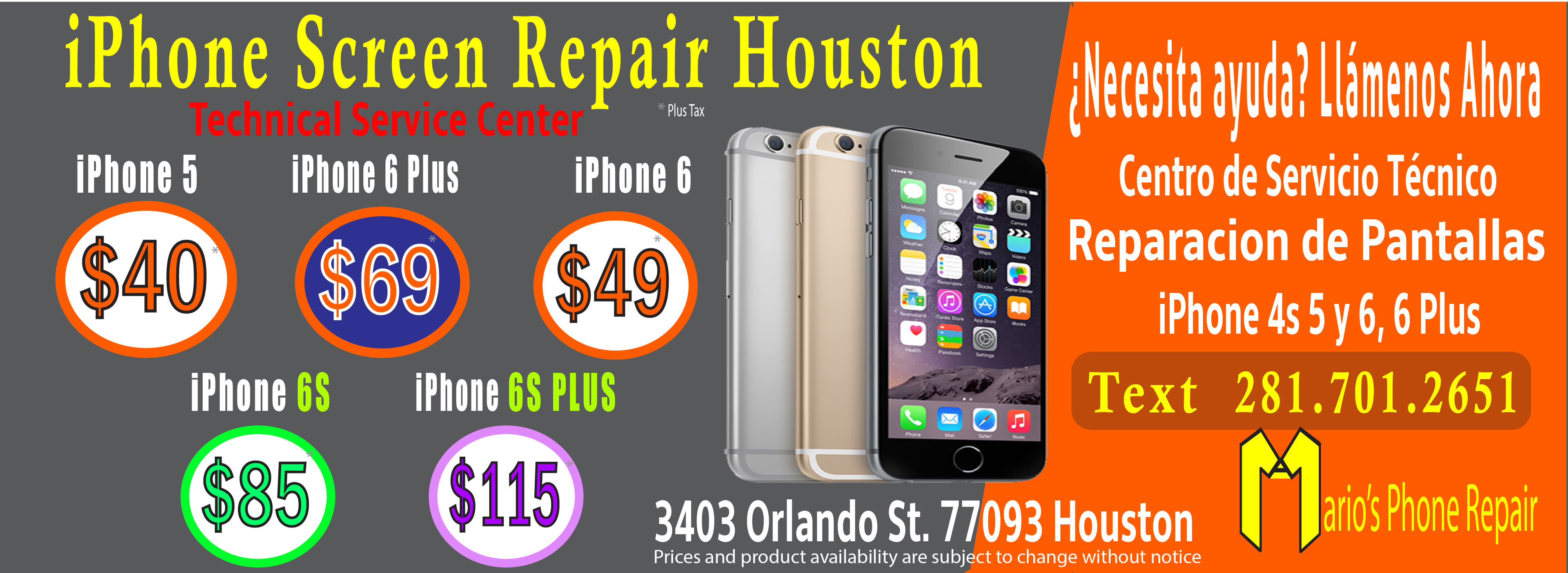 iphone screen repair houston 2017