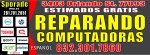 REPARANDO COMPUTADORAS EN HOUSTON