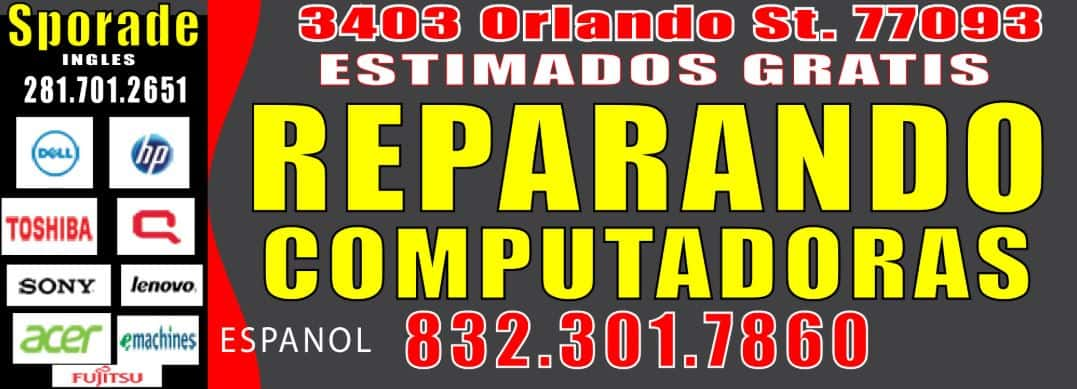 REPARANDO COMPUTADORAS EN HOUSTON